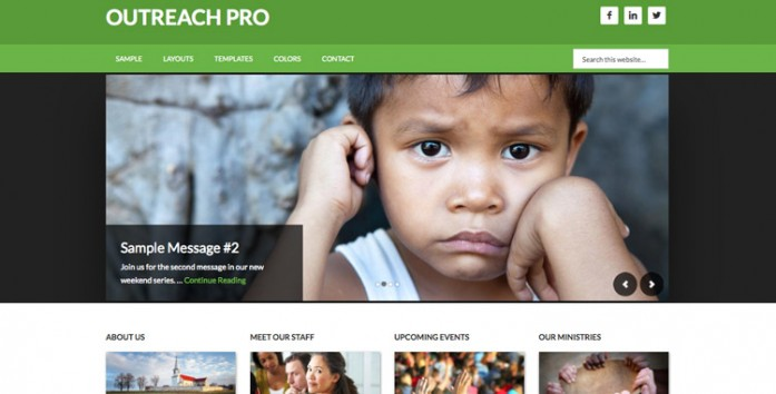 Outreach Pro - StudioPress Genesis Child Theme